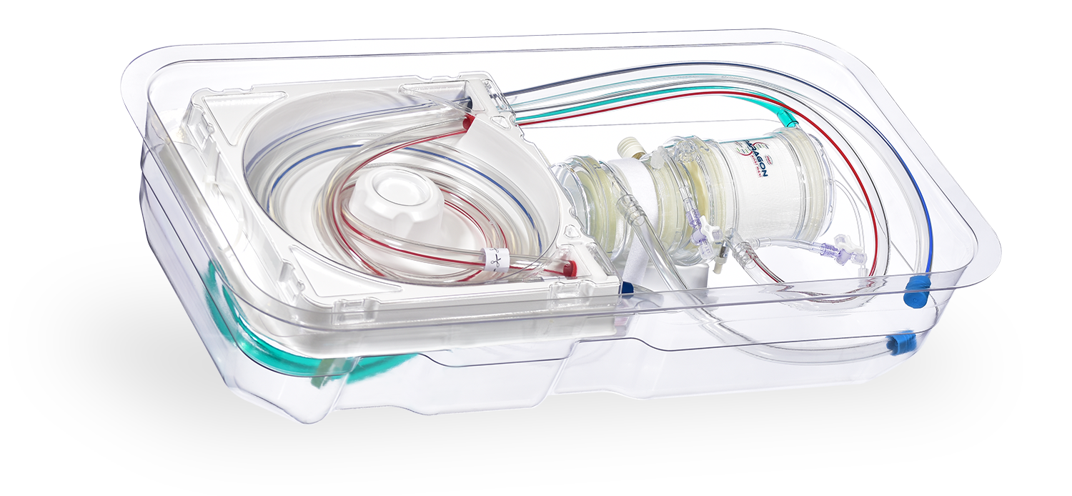 Customised tubing packs is available from Chalice Medical.