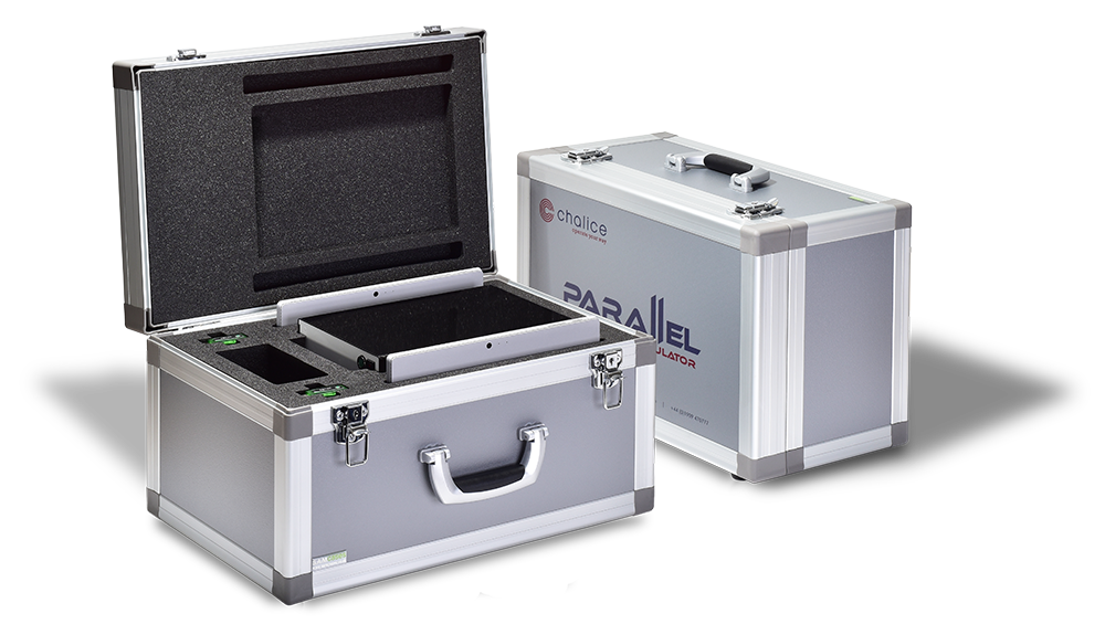Each Parallel is supplied with a custom built transport case.