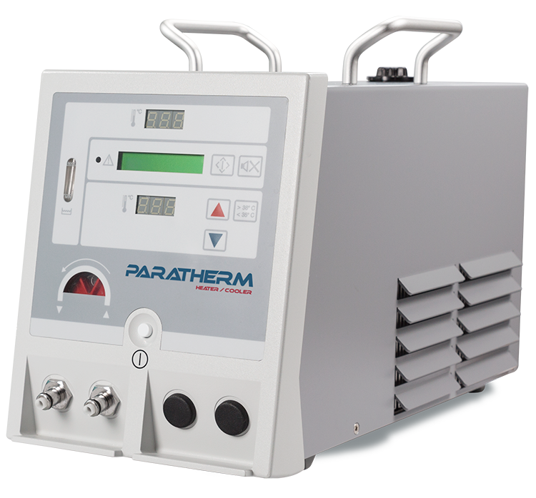 The ParaTherm is a compact and efficient heater/cooler unit.
