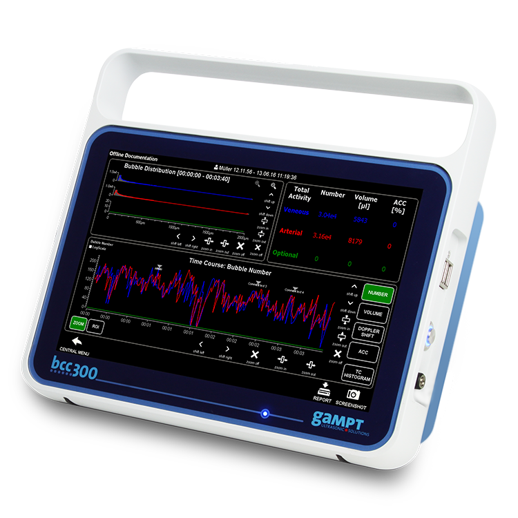 An essential piece of monitoring equipment for every unit performing bypass heart surgery.